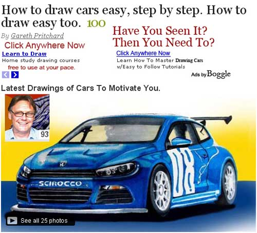 Hubpages.com/how to draw cars easy step by step/.
