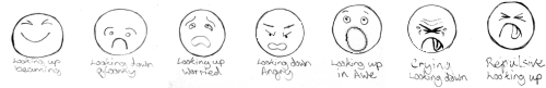 Draw Cartoons Facial Expressions For Using In Your Cartoons.
