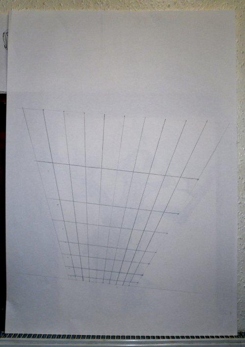 Anamorphic Perspective Grid.