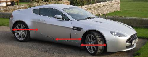 AstonMartinVantage How to draw from memory and imagination.
